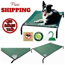 Elevated Pet Bed Dog Cot Indoor/Outdoor Cool Fabric Portable Washable Coolaroo