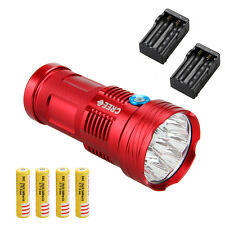 SKYRAY 9x CREE XML T6 20000Lm LED Flashlight Torch Work Hunting Lamp Camping