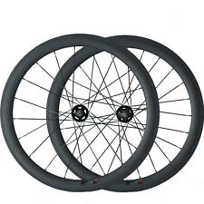 23mm Width 50mm Clincher Carbon Wheels Track Fixed Gear Track Bicycle Wheelset