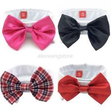 Fashion Dog Multi-Colors Bow Tie Puppy Necktie Dog Cat Pet Adjustable Collar