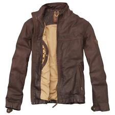 TIMBERLAND MAN BLACK EARTHKEEPERS STRATHAM LEATHER JACKET | XL | MSRP $ 550