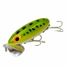 """Arbogast Jitterbug - 2 Topwater Lures - 1/4oz, 2"""" - Pick your (one) Color #G630"""