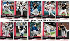 2005 Upper Deck ESPN Baseball Team Sets ** Pick your Team **