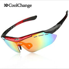 Cycling Glasses Bike Goggles Outdoor Sports Bicycle Sunglasses 5 Lens