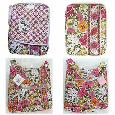 Vera Bradley TEA GARDEN *RETIRED* Hipster Tablet Pleated Tote Fast Shipping