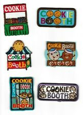 Girl Scout/Guides Patch/Crest/Badge  COOKIE BOOTH   (your choice)