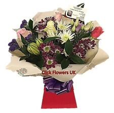 FRESH REAL FLOWERS  Delivered UK Whispers All Occasions Selection Bouquet