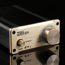 MUSE M20 EX2 TRAPATH TA2020 T-Amp Mini Stereo Amplifier 20WX2 GOLD