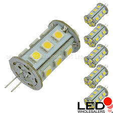 G4 Bi-Pin Tower Type 12V AC/DC 2.5W LED Bulb with 21xSMD5050 (6-Pack)