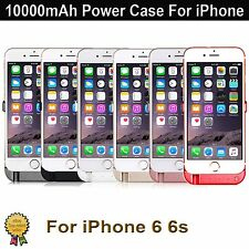 10000mAh External Battery Charger Power Case Cover Pack For Apple iPhone 6 6S