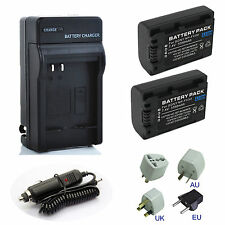 Battery Pack / Charger For Sony HDR-PJ10,HDR-PJ30V, HDR-PJ50V Handycam Camcorder