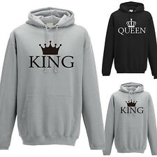 Unisex Casual Long Sleeve Hooded Sweatshirt Couple Loose Hoodie Clothes Glitzy