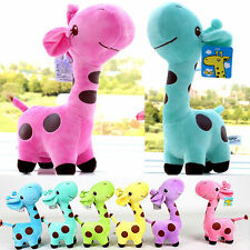 New Giraffe Soft Plush Toy Animal Dear Doll Baby Kid Children Birthday Gift