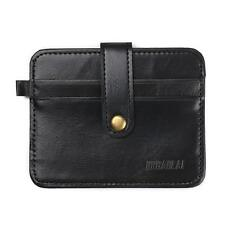 Men Leather Money Clip Slim Wallet Purse ID Credit Card Holder Case Bag Pocket i