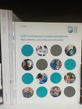 Open University - An Introduction To Health & Social Care - 10 Books! (ID:38109)