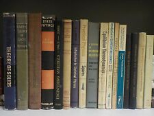 Various Vintage Science & Mathematics Books - 17 Books Collection! (ID:38179)