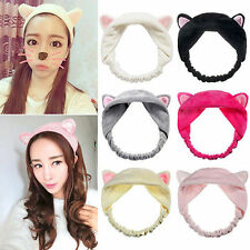 New Arrival Cat Ears Hairband Headdress Hair Accessories Makeup Tools new hot