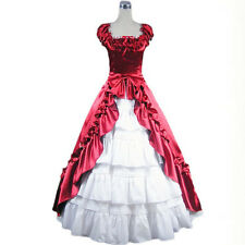 Victorian Southern Belle party Dress Cosplay Gown Theater Reenactment Costume
