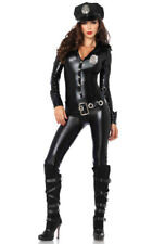 Leg Avenue womens adult Police officer catsuit costume