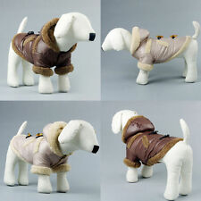 Dog Cat Clothes Pet Apparel Puppy Winter Warm Coat Hoody Jacket Clothing Outwear