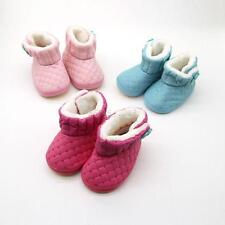 New Infant Toddler Baby Girls Winter Boots Boys Kids Thick Snow Boots Fur Shoes
