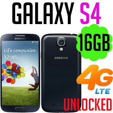 Samsung Galaxy S4 i9505 i9506 UNLOCKED 4G LTE 16GB Black Mobile Phone Smartphone