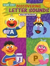 Sesame Street Discovering Letter Sounds Wipe-Off Workbook: Ages 2 to 4 by