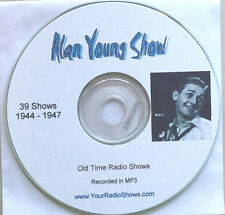 The Alan Young Show-1 CD 39 Shows-Old Time Radio-Comedy-ONLY $3.99-FREE S&H