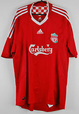 Liverpool Football Shirt Adidas Home T-Shirt Marked Torres Number 9 Mens XL
