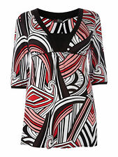 House Of Fraser/Lovedrobe Print Tunic Top/Dress 26 /28  30/32 Abstract