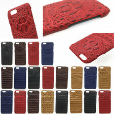 Luxury Crocodile Texture PU Leather Skin Phone Case Back Cover For iPhone Apple7