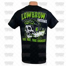 Lowbrow Customs Ride Fast Take Chances T-Shirt