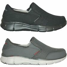Mens Skechers EQUALIZER PERSISTENT Slip On Casual Shoes Sneakers Medium Wide