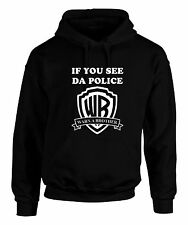 WARN A BROTHER HOODIE IF YOU SEE DA POLICE OFWGKTA TAYLOR GANG DOPE FRESH SWAG