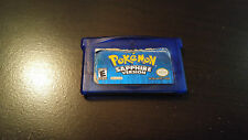 Pokémon: Sapphire Version (Nintendo Game Boy Advance) Game only 100% Authentic!