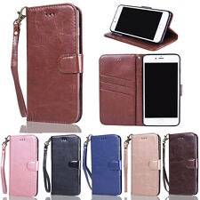 Luxury Magnetic Card Wallet Flip PU Leather Phone Case Cover For Samsung Galaxy