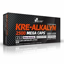 OLIMP KRE-ALKALYN 2500 MEGA CAPS BUFFERED CREATINE MONOHYDRATE