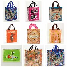 Blue Q Shopper Handy Shopper Tote Jumbo Pouch 27 Styles 2 Choose FAST SHIP