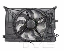 TYC 623530 Dual Rad&Cond Fan Assy for Jeep Renegade 1.4T 2015-2016 Models