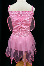 Girls size 1,2,3 & 4 Fairy Dress Pink with Wings COSTUME FANCY DRESS PARTY