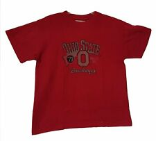Ohio State Buckeyes Distressed Logo Adult Men's T-Shirt '70 Athletic Dept