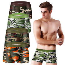 For Men Briefs Military Camouflage Boy Underwear Pants Boxer Army New Hot