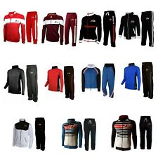 X-2 Mens Athletic Full Zip Fleece Tracksuit Jogging Gym Sweatsuit Activewear