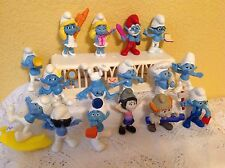 SMURFS THE MOVIE 2013 MCDONALDS HAPPY MEAL TOYS FIGURES