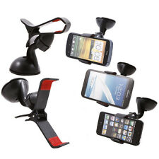 Universal Mount Car Holder For iPhone Samsung Galaxy S3 S4 S5 Mobile Phone GPS