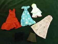 Vintage skipper or other small doll job lot of clothes