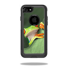 Skin Decal Wrap for OtterBox Commuter iPhone 7 Case Froggy