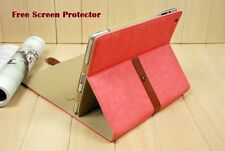 Apple iPad Air 5 Belt Strap Leather Case Cover + Free Screen Protector