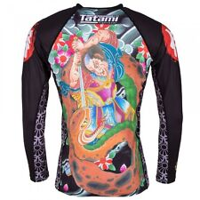 NEW! Tatami Japan Series Samurai Rash Guard BJJ Jiu-Jitsu MMA No-Gi RashGuard