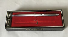 Vintage Papermate Mechanical Pencil, USA, Stainless Steel + Chrome, Case